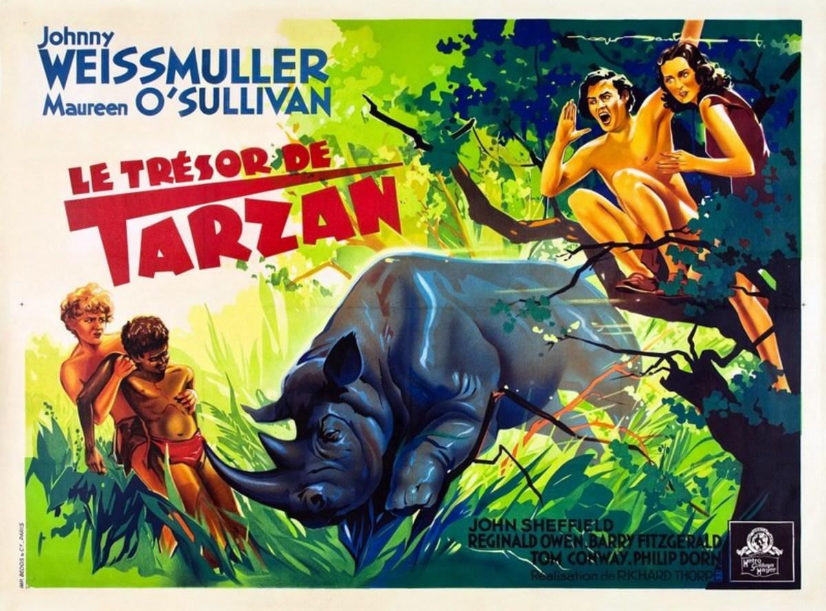 Tarzan's Secret Treasure - poster