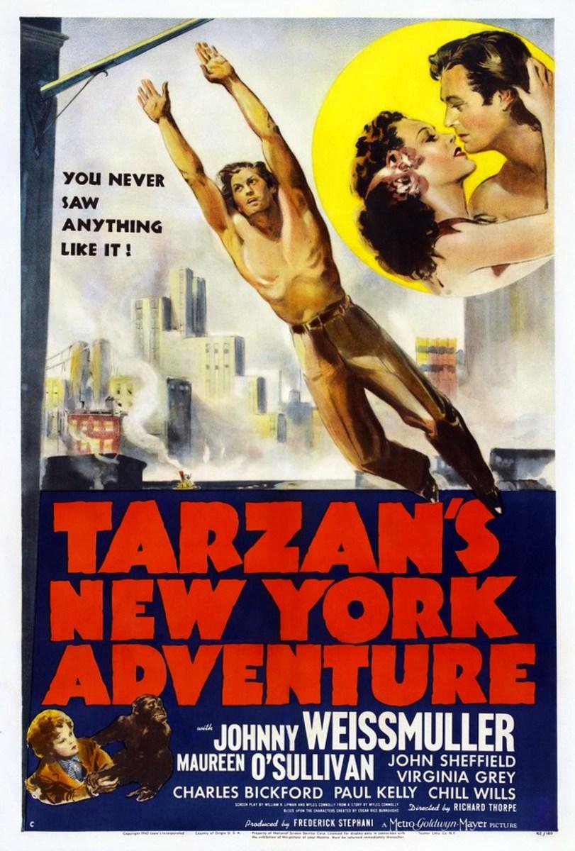 Tarzans New York adventure - poster