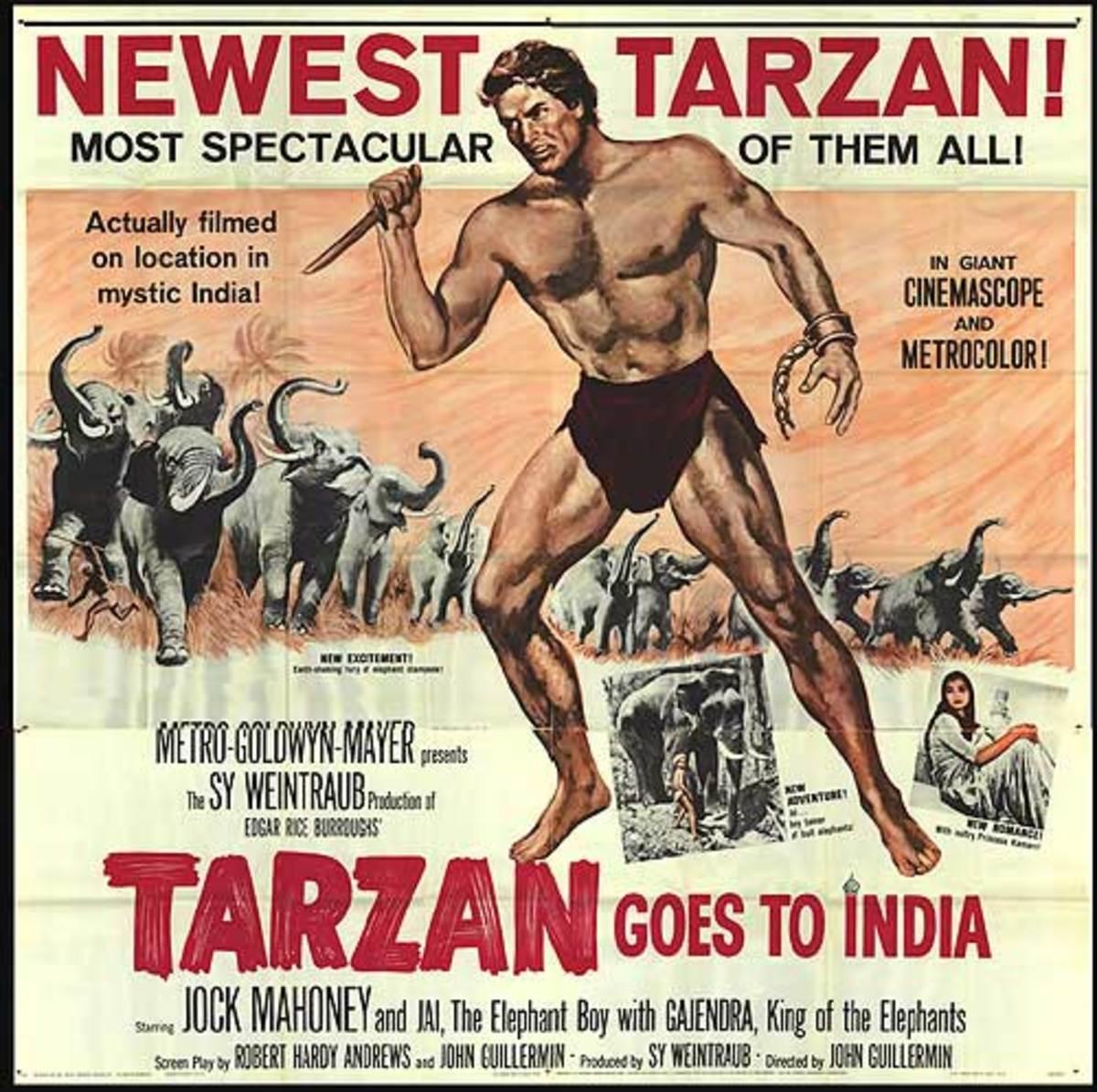 Tarzan Goes to India - poster