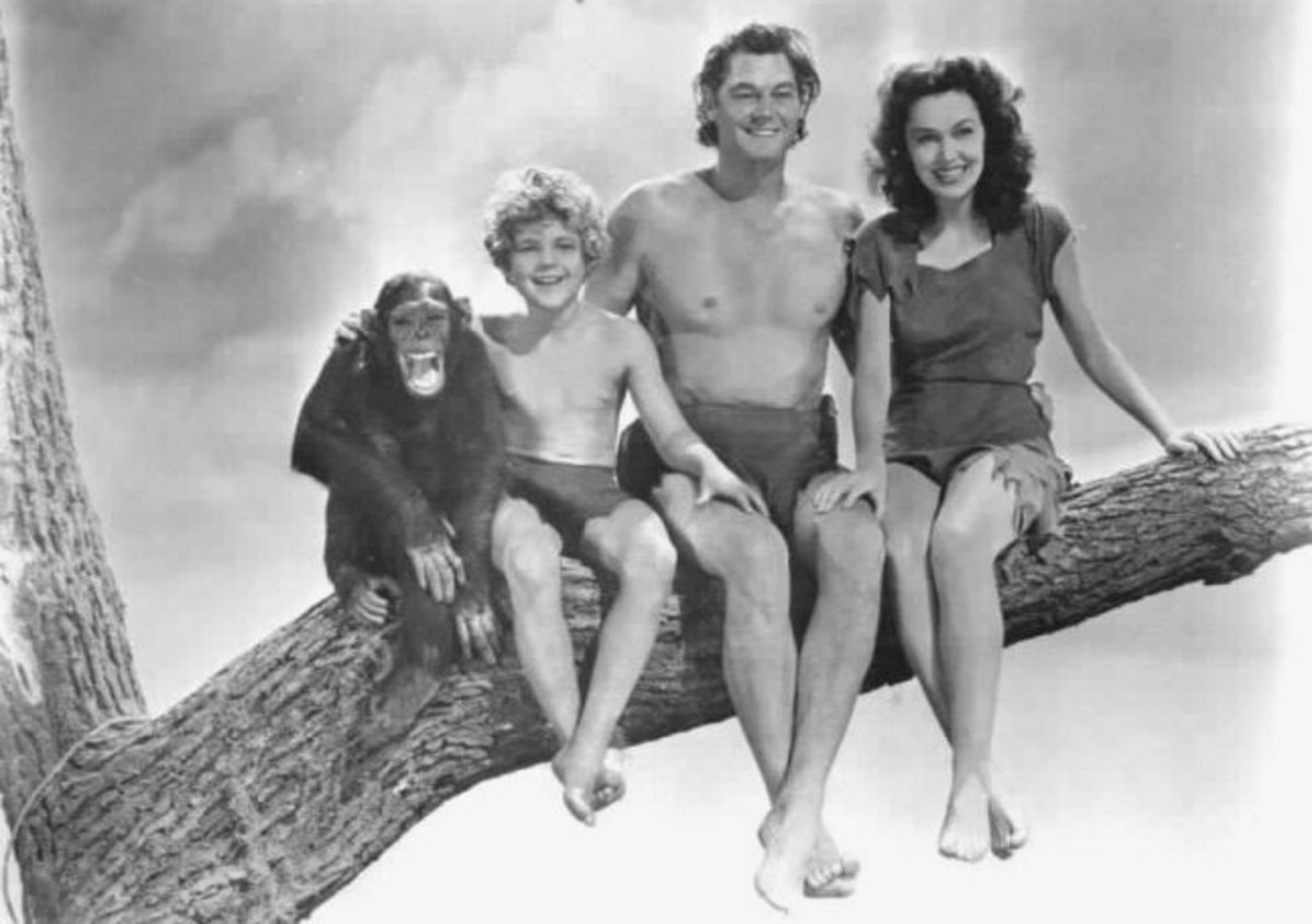 Tarzan and family