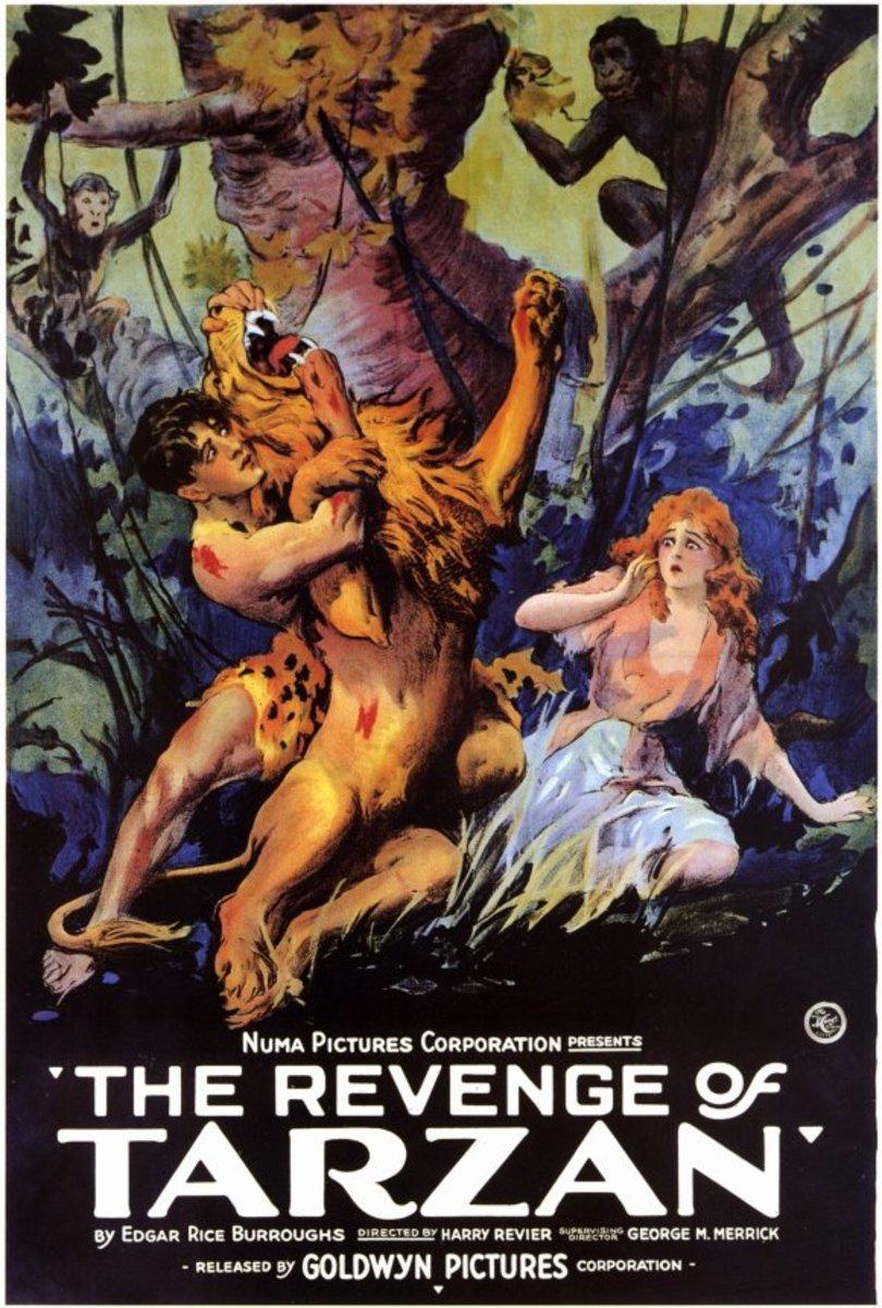 Revenge of Tarzan - poster