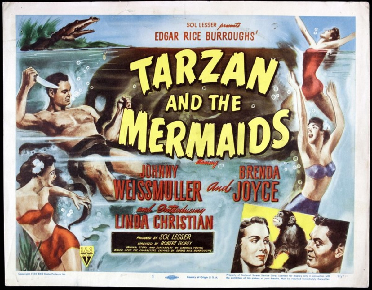 Tarzan and the Mermaids - poster