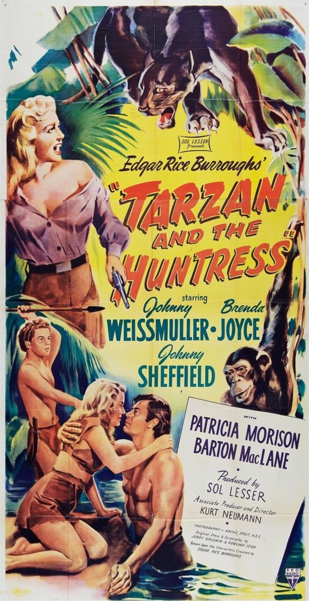 Tarzan and the Huntress - poster