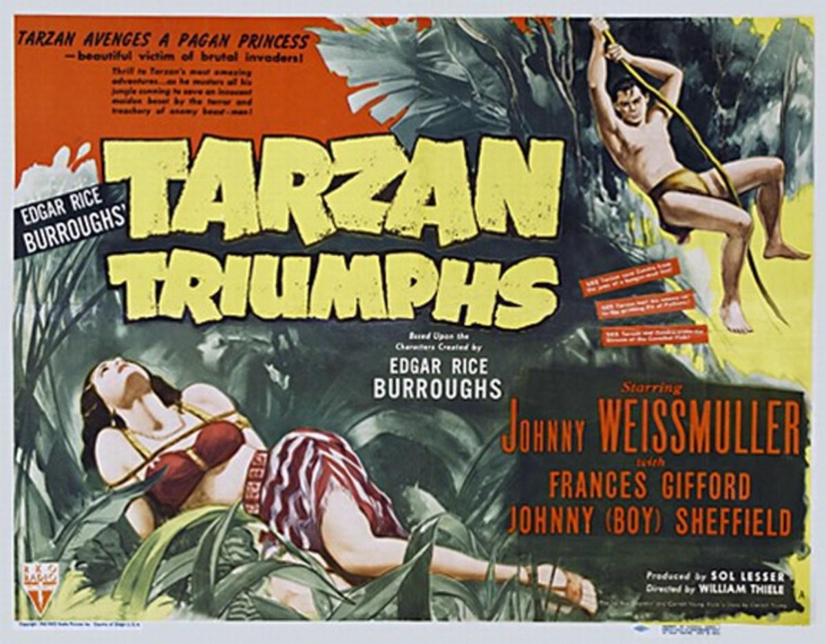 Tarzan Triumphs - poster
