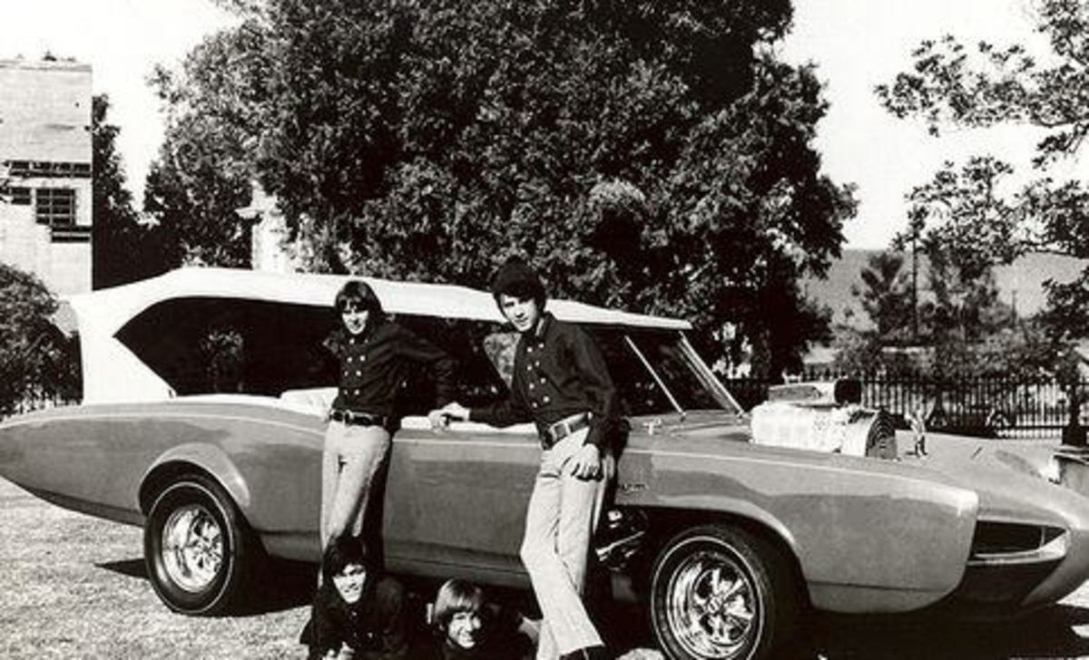 The Monkee's car was quite cool!