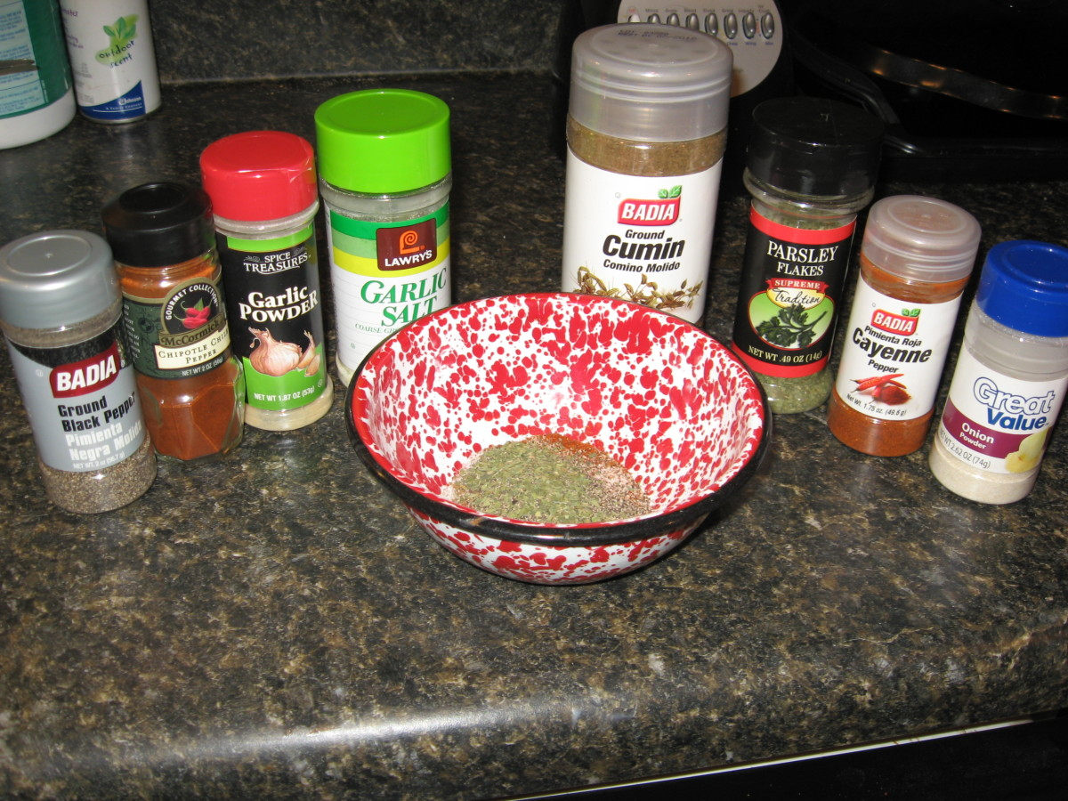 Create your own sausage seasoning blend with your favorite herbs and spices.