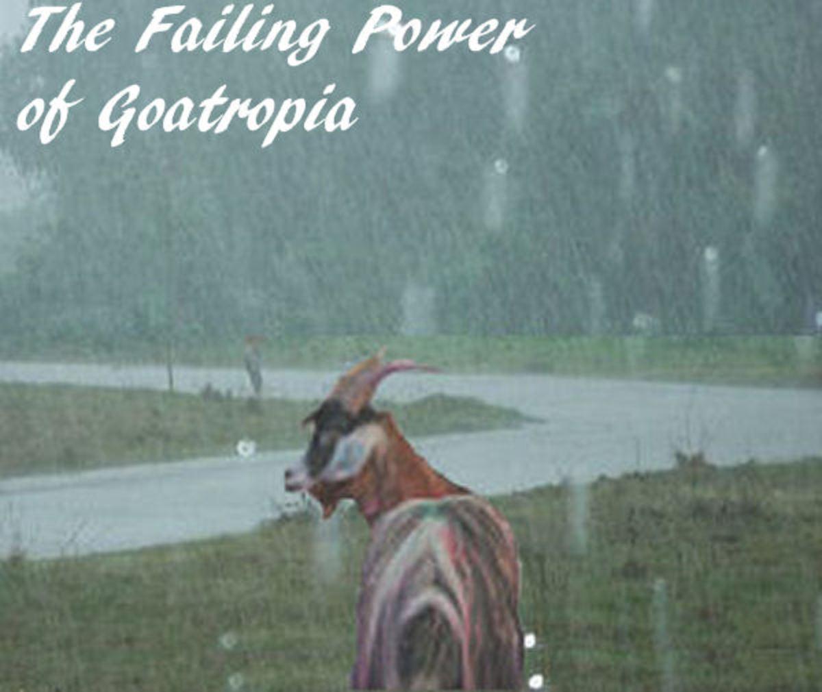 The Failing Power of Goatropia