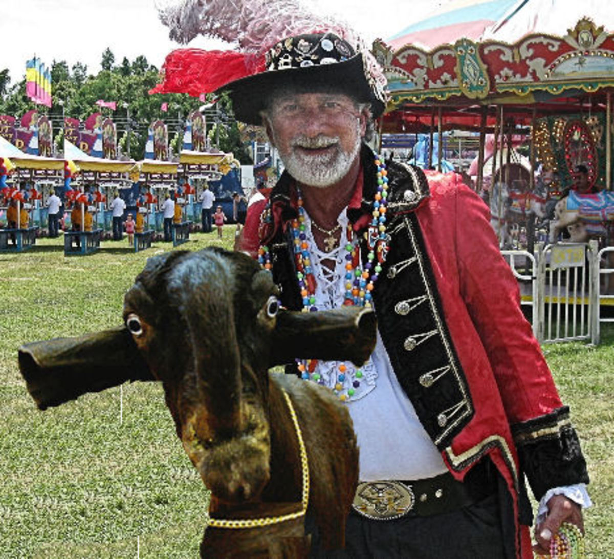 Dr. Harry Beard III Goatology Researcher *see composite image component citations