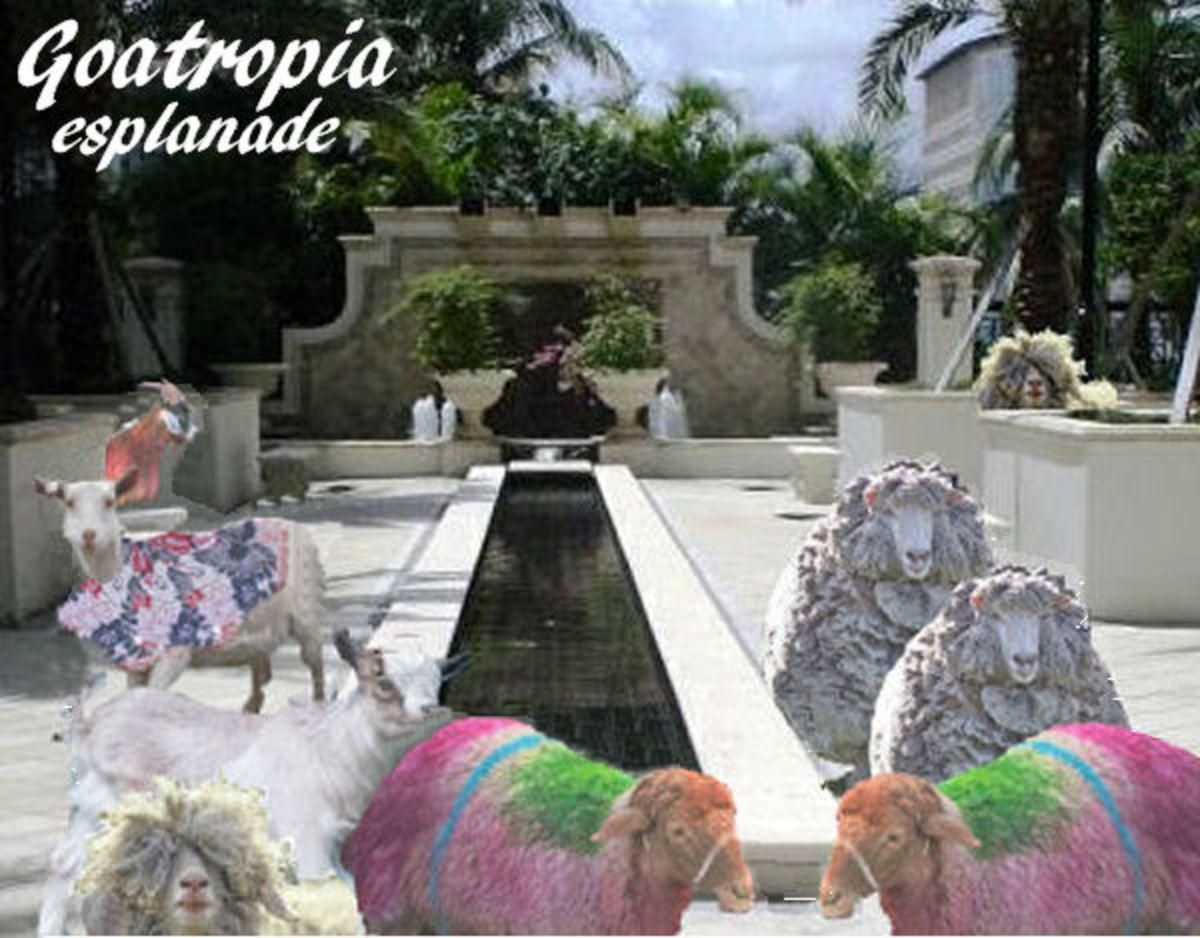 Goatropia's Tropical Esplanade Plaza