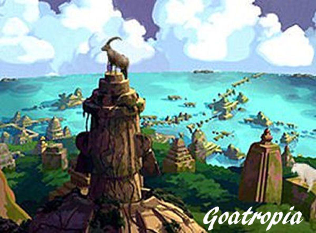 Goatropia - Early Goat Civilization