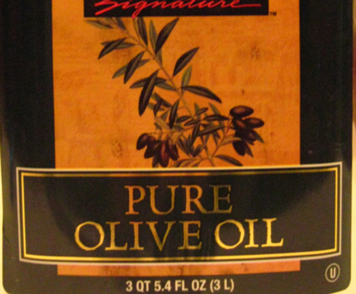 """Pure Olive Oil is no different than """"Olive Oil"""", it just means that it's not mixed with other types of oil, such as corn or soy oils."""