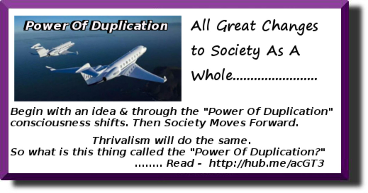 "Understand and ""Use"" the Power Of Duplication"