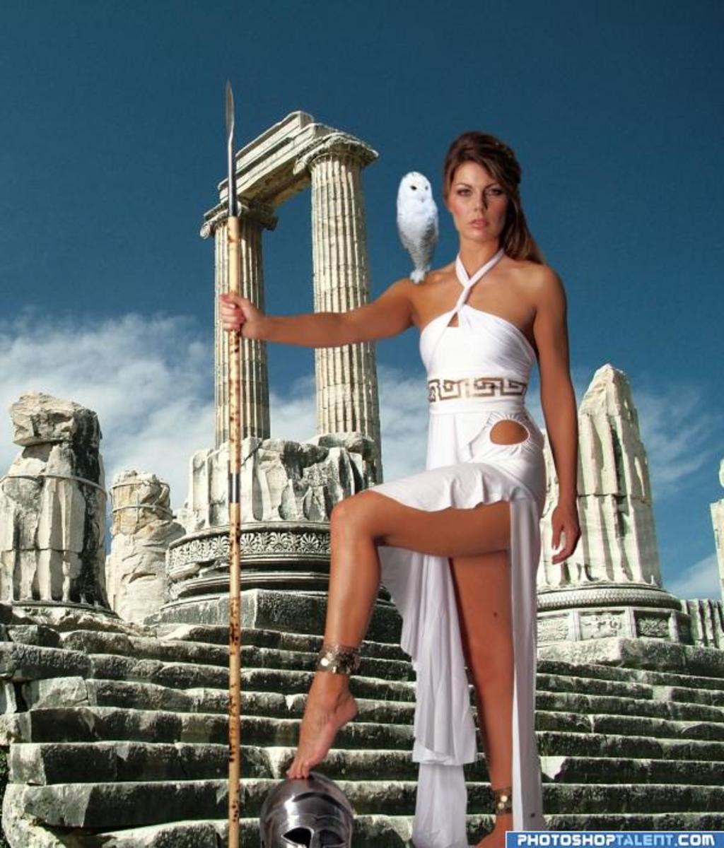 Athena Goddess of Wisdom and War!
