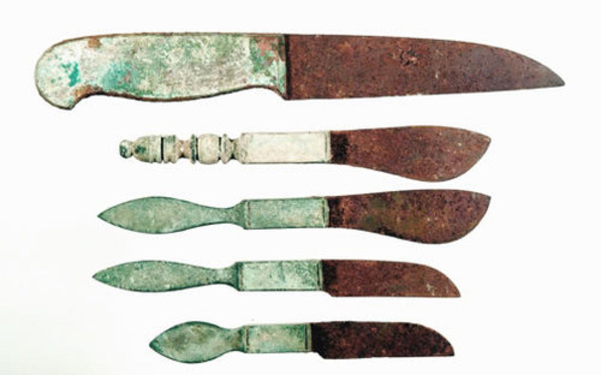Ancient Roman Surgical Instruments