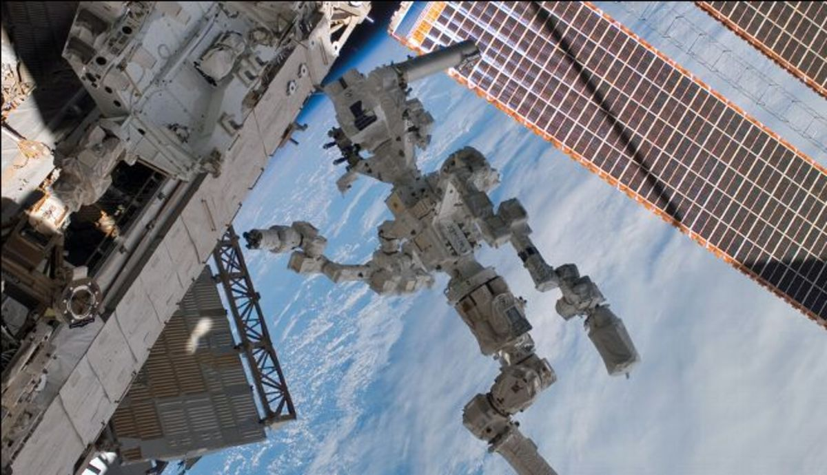 International Space Agency's Robotic Arm