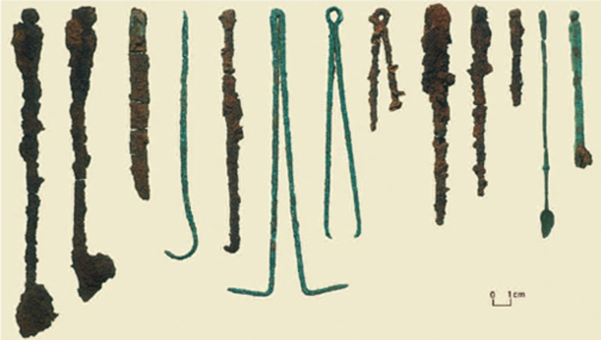Ancient Druidic Surgical Instruments
