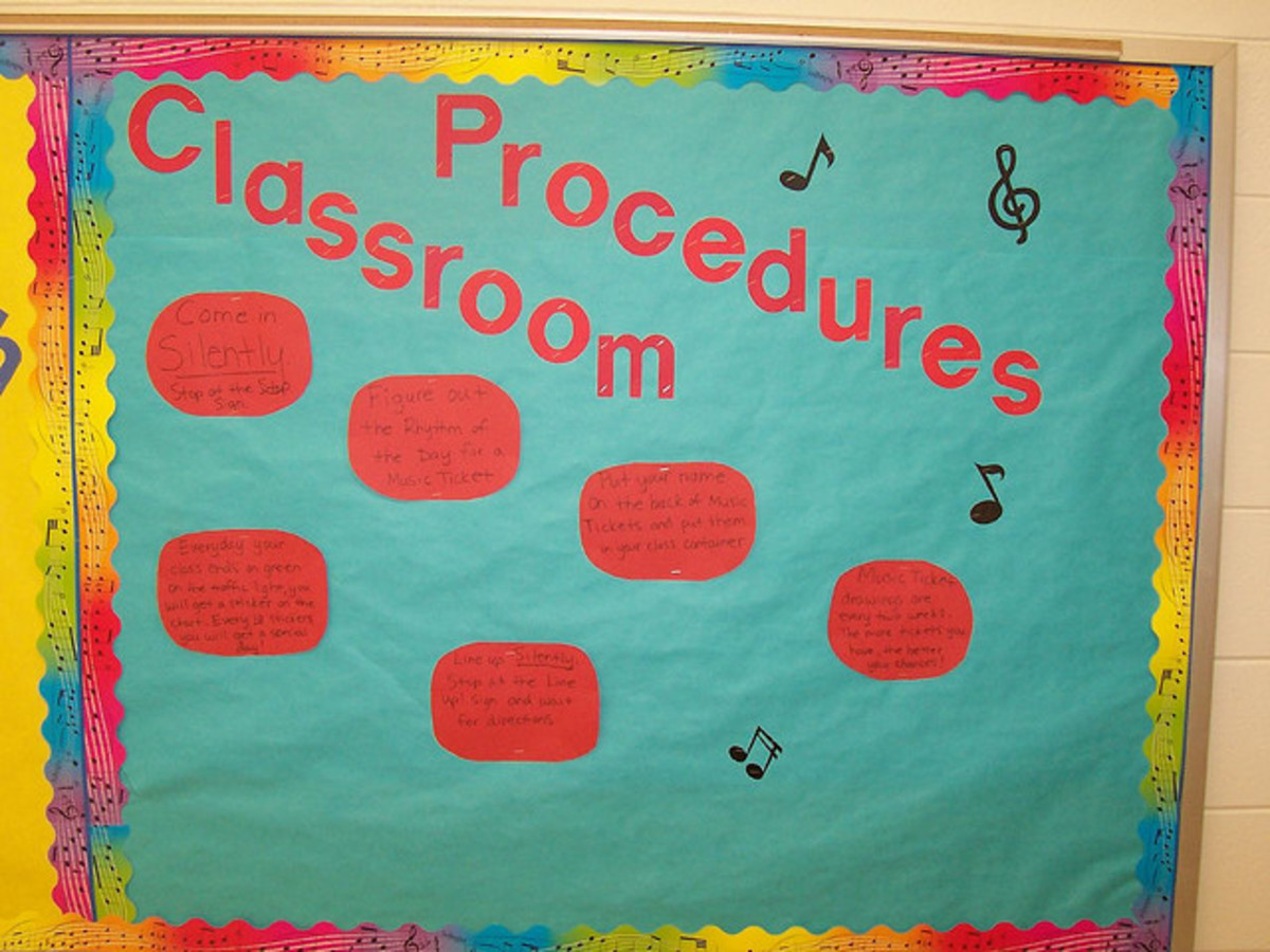 Music Classroom Procedures