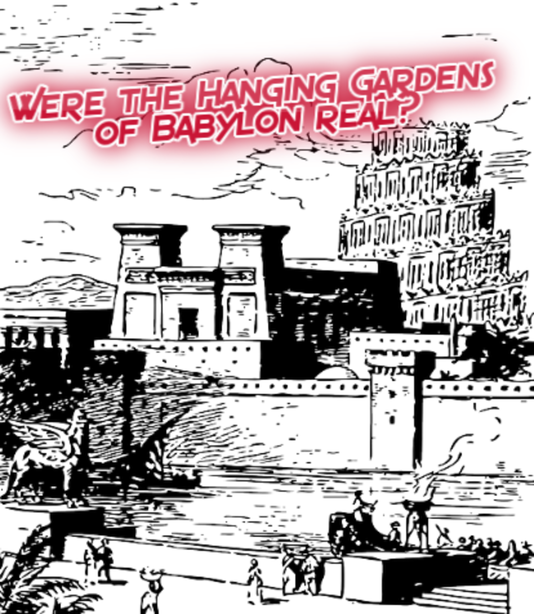 Controversy - Hanging Gardens of Babylon Facts and Five Possible Locations