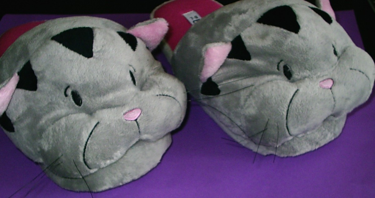 Add your friends favourite items - even if they're cat slippers because they love cats!