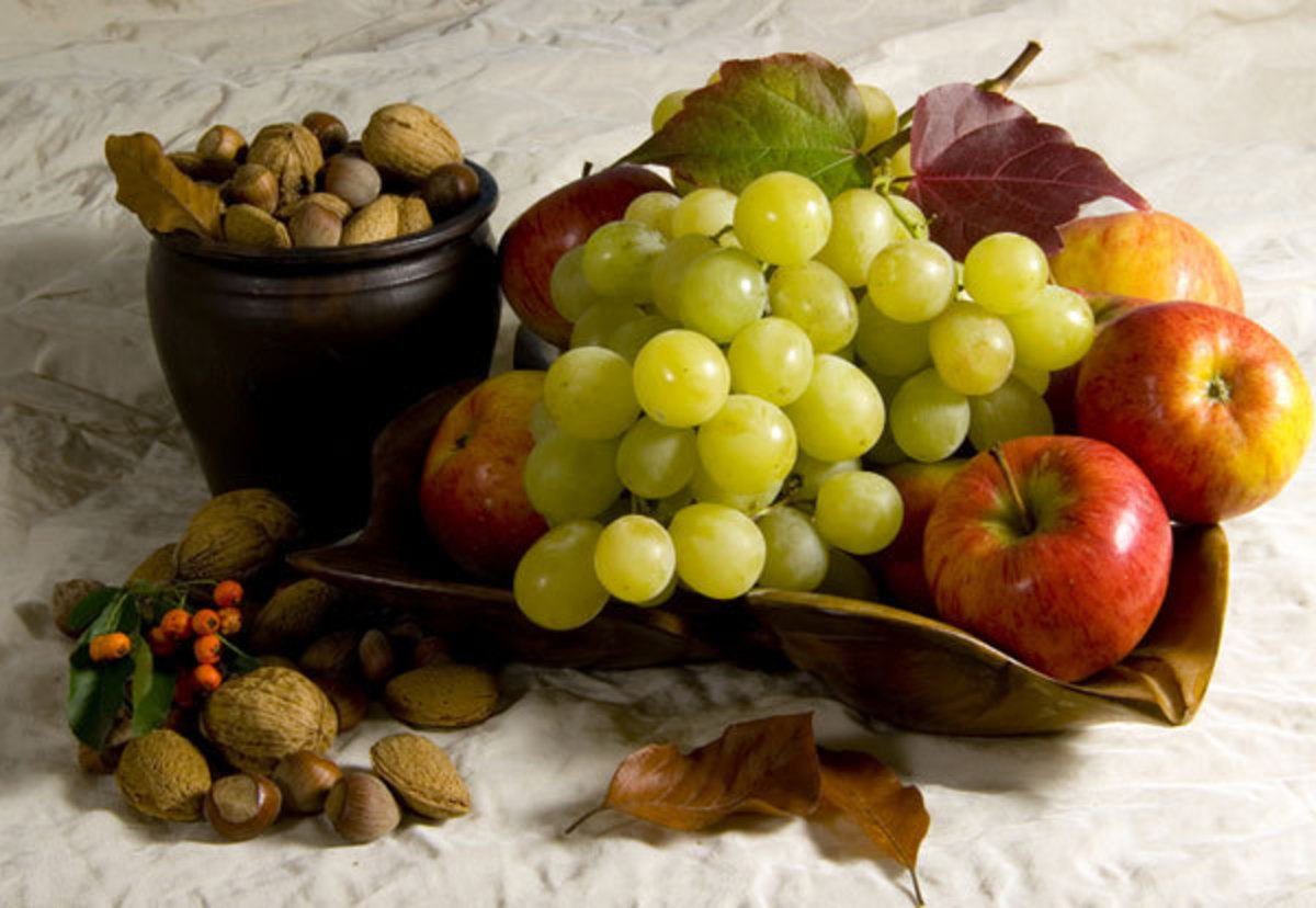 Grapes and nuts contain Boron.