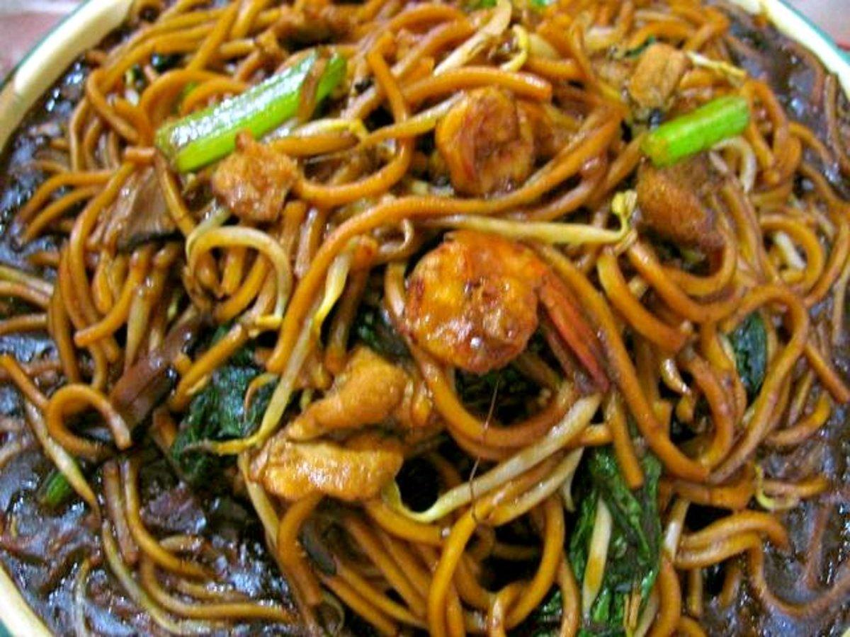 Cantonese Chicken Lo-mein