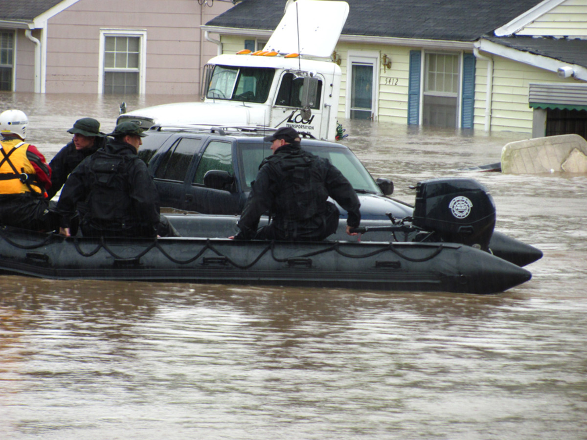 The Polar Shift Continues with Floods In America