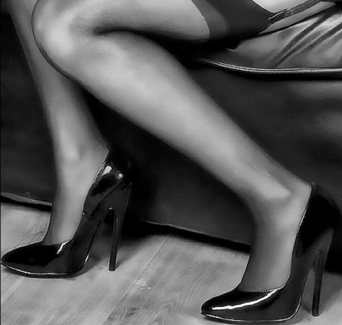 sexy legs in high heels