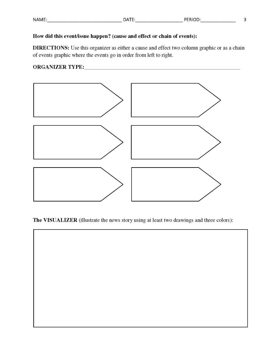 This is a photo of Simplicity Current Events Worksheet Printable