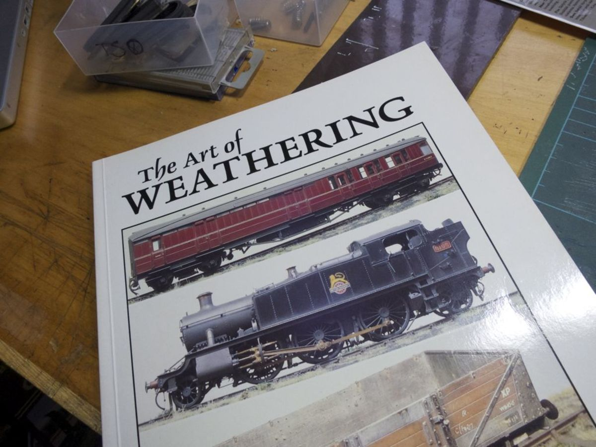 "Martyn Welch: ""The Art of Weathering"" published by Wild Swan, available from Amazon.uk"