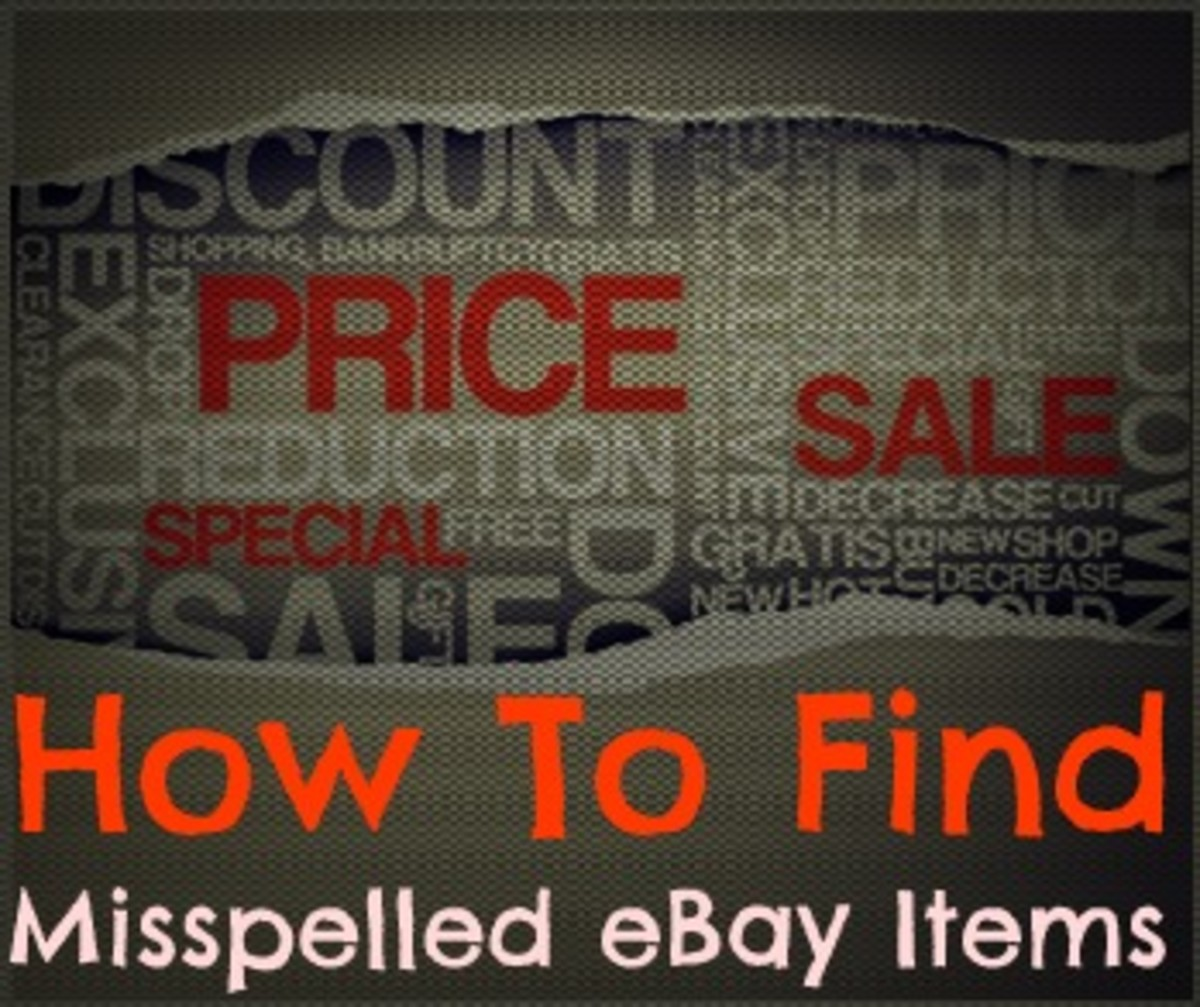 How to find misspelled items on eBay