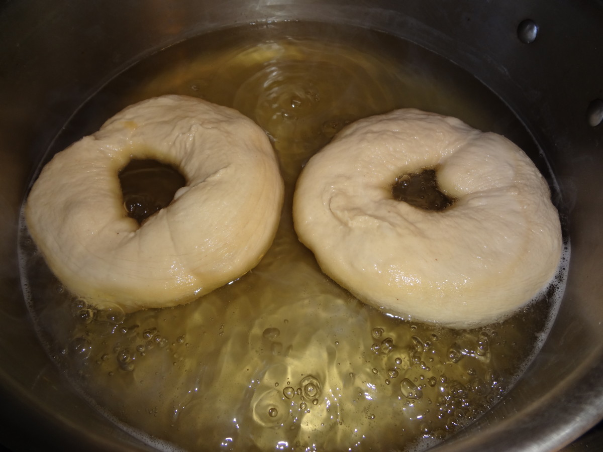 Boil the bagels
