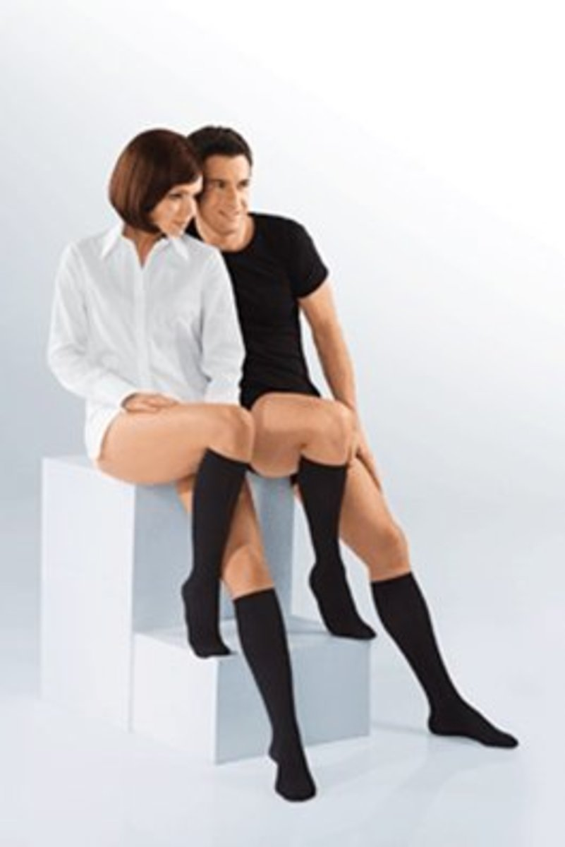 Compression stockings for women and men