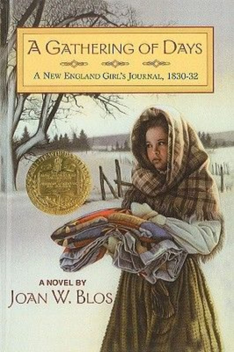A Gathering of Days: A New England Girl's Journal, 1830-32 by Joan W. Blos - Image is from pintrest.com.