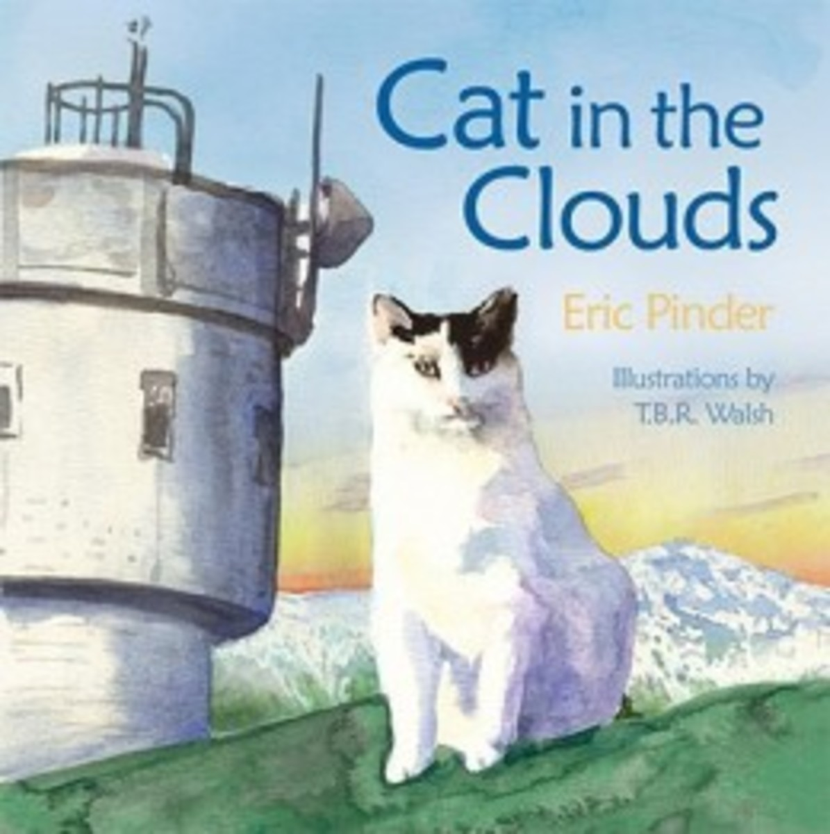 Cat in the Clouds by Eric Pinder (Image is from booksamillion.com.)