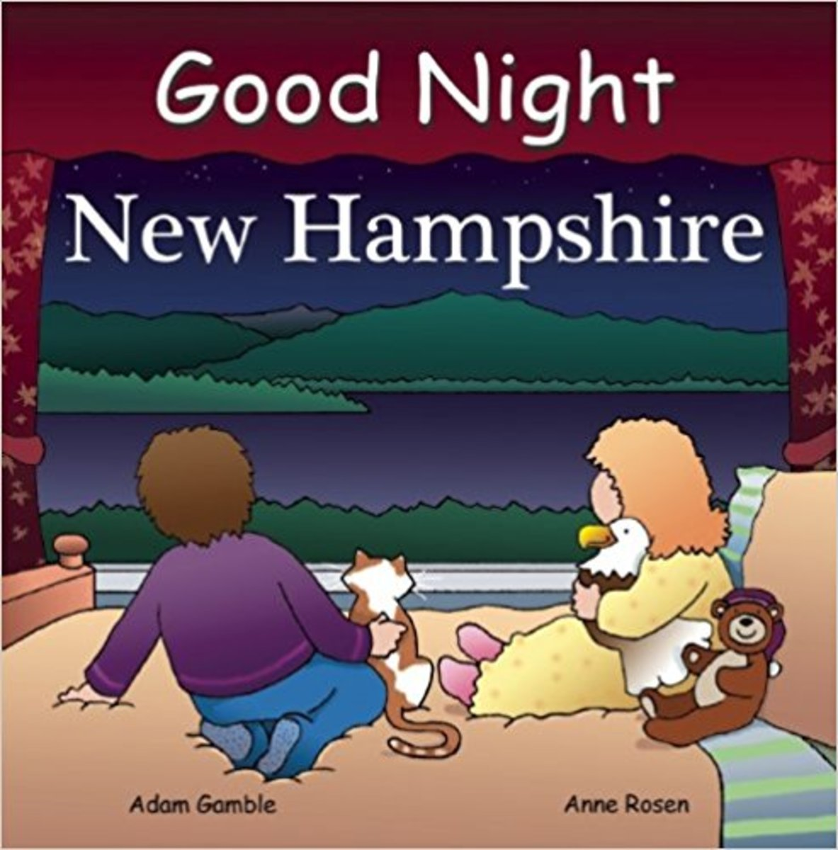 Good Night New Hampshire (Good Night Our World) Board book by Adam Gamble - Image is from amazon.com.