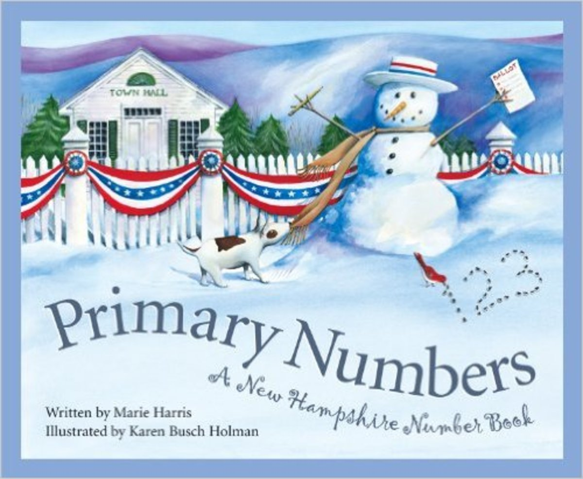 Primary Numbers: A New Hampshire Number Book by Marie Harris
