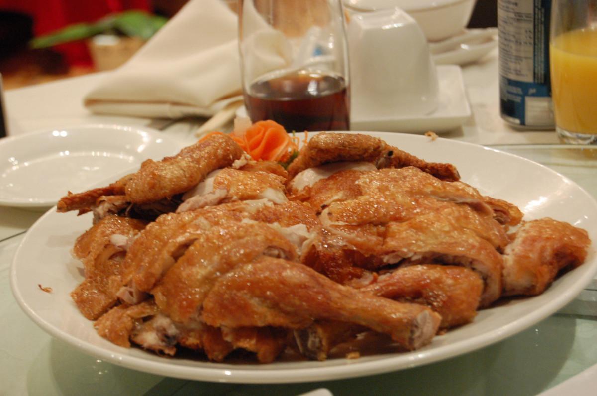 Shanghai Fried Chicken Recipe