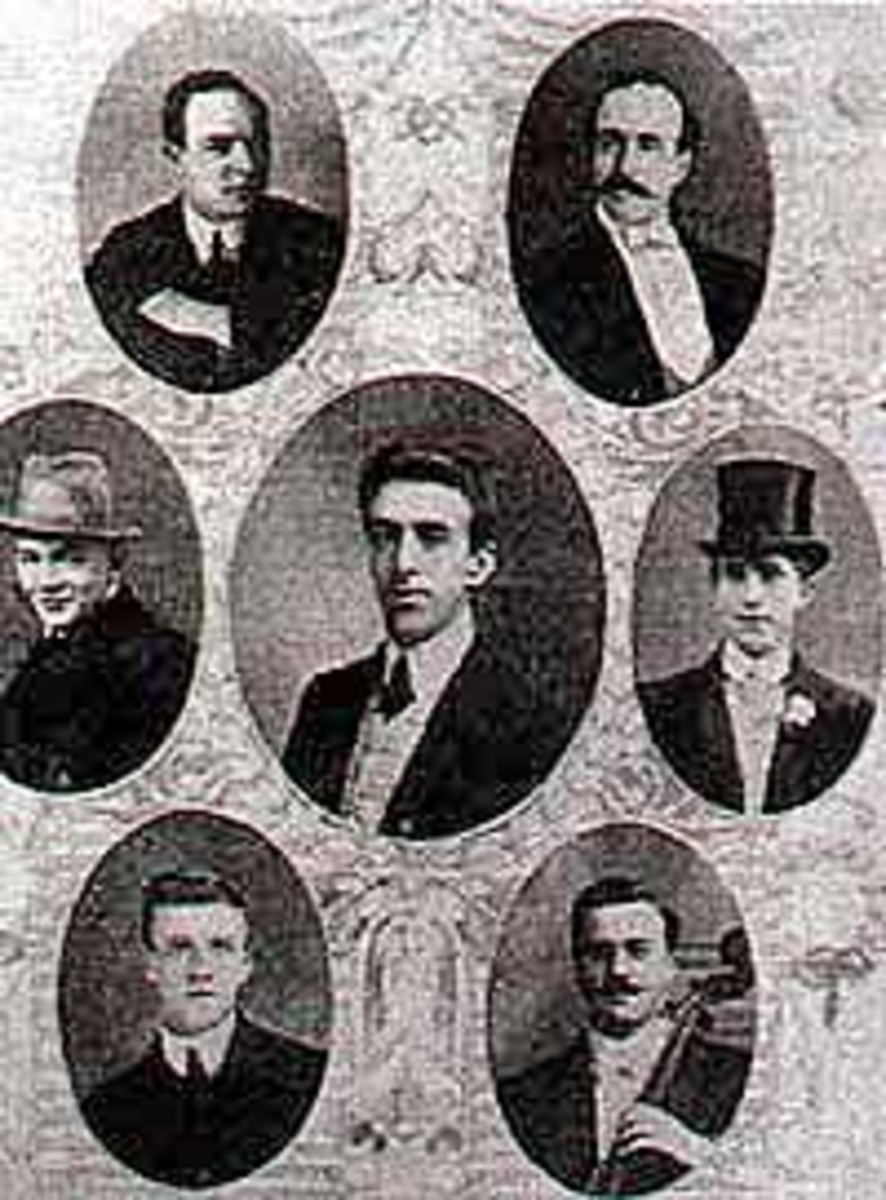 Public domain. See: http://en.wikipedia.org/wiki/File:Titanic_orchetra.jpg