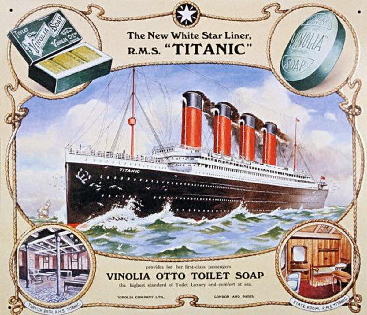 Public domain. See: http://en.wikipedia.org/wiki/File:RMS_Titanic_1.jpg