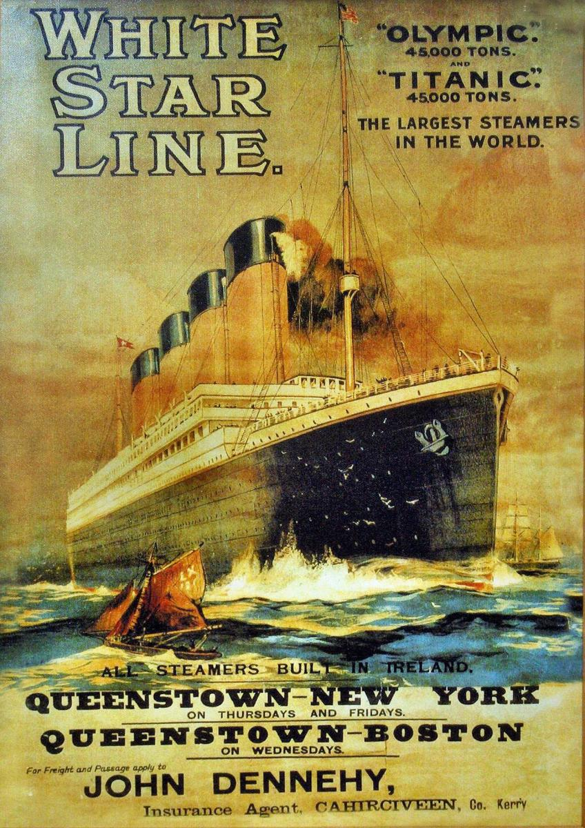 See: http://commons.wikimedia.org/wiki/File:White_Star_Line.JPG