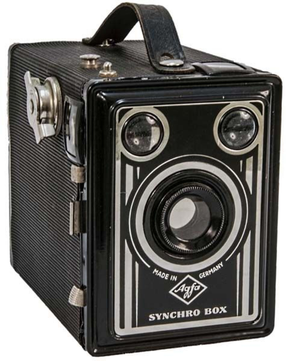Agfa Synchro Box Camera