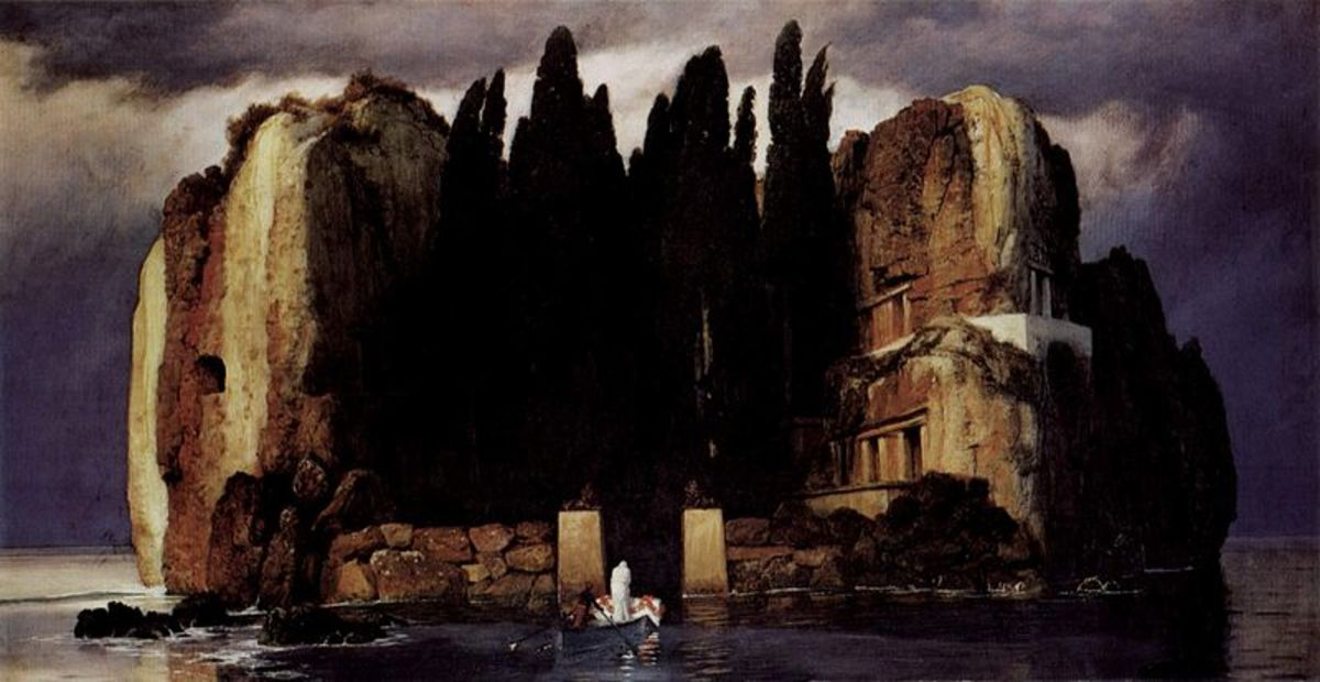"Böcklin's ""The Isle of the Dead"""