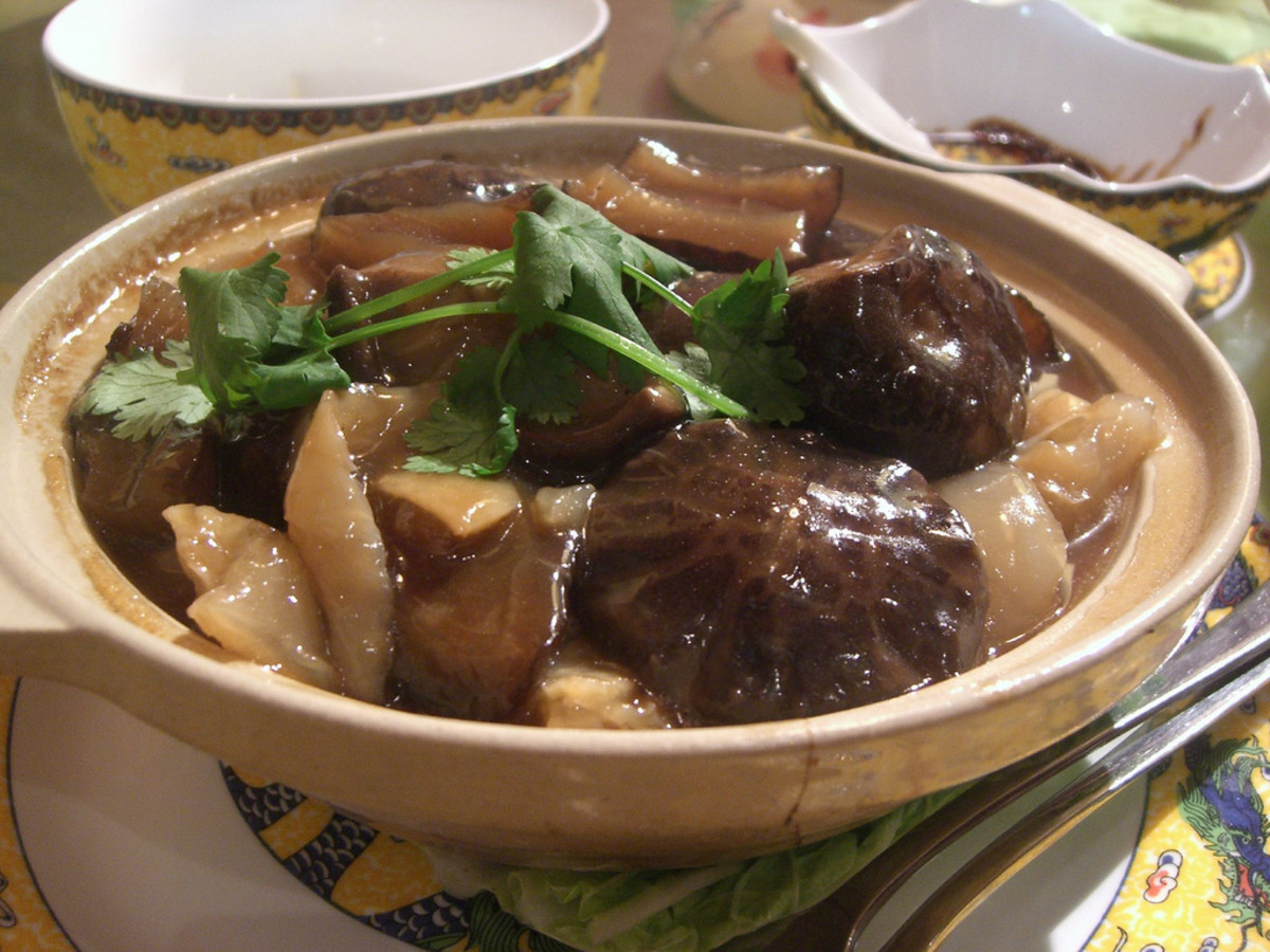 Braised Sea Cucumber
