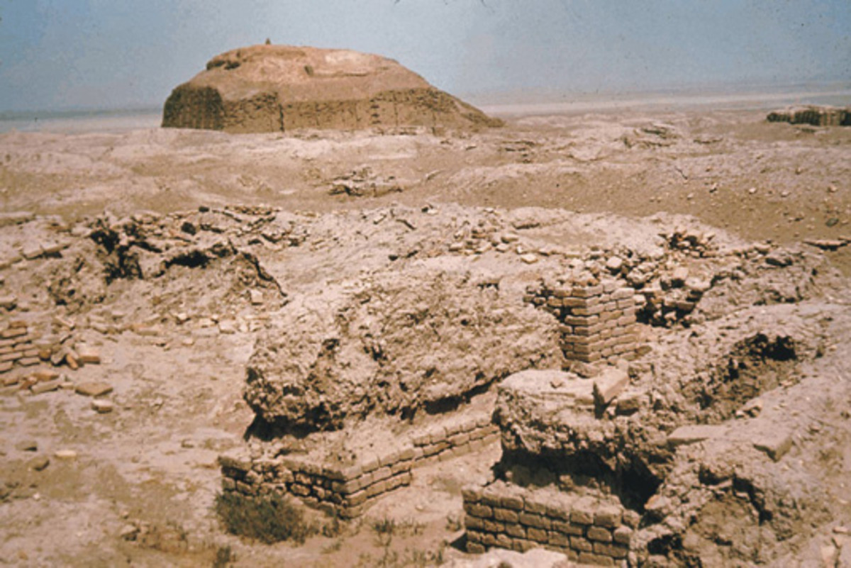 Eridu today, first established during the Ubaid Period (5300 BC)