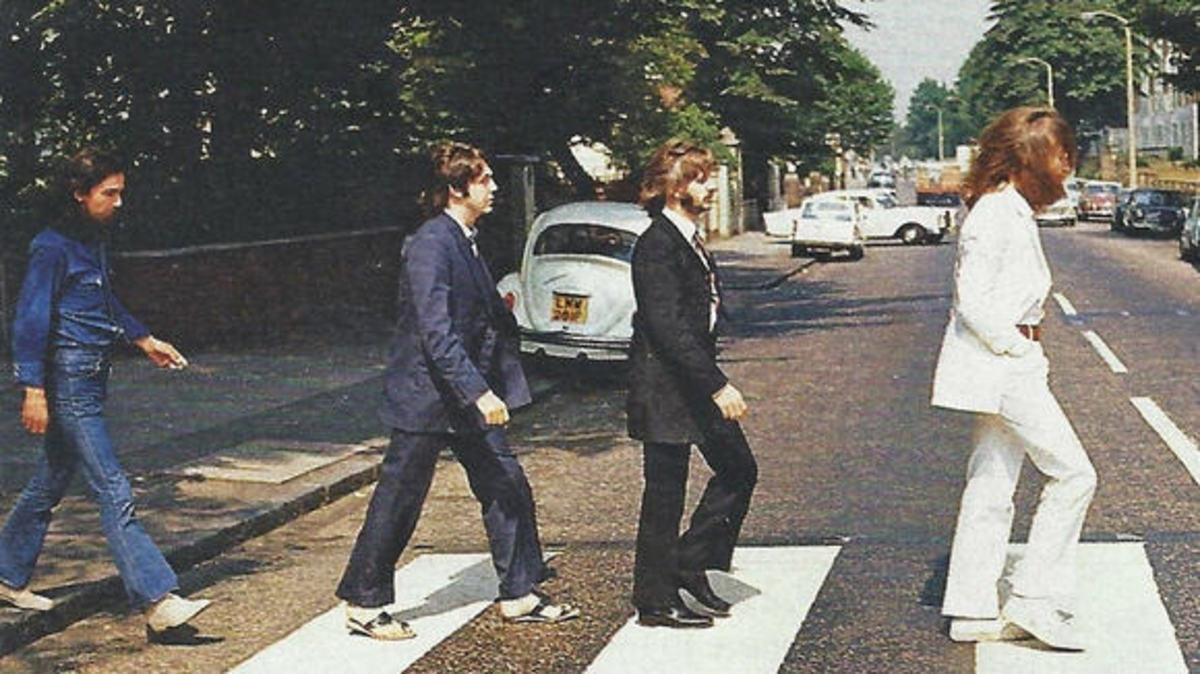 Beatle missteps-Paul in sandals