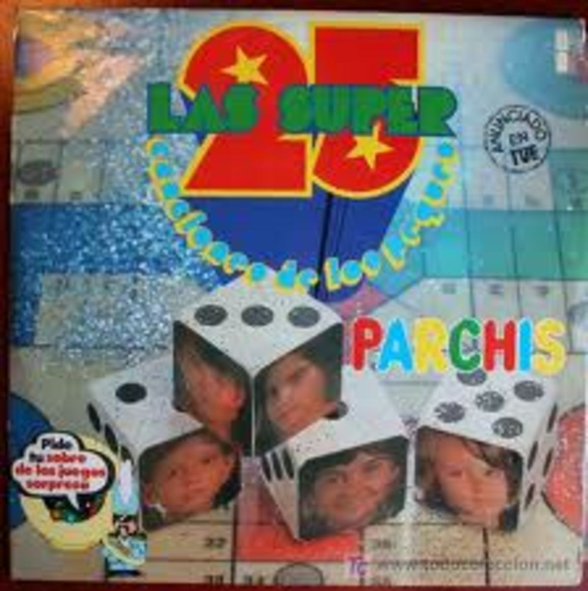 Parchis's most famous childrens album. This is their first debut album that was released in 1979. I love this album because it contains really fun, meaningful, and imaginative songs that any children can listen to.