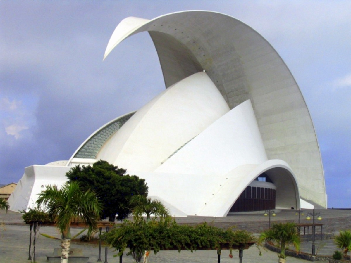 Auditorio de Tenerife, Canary Islands.