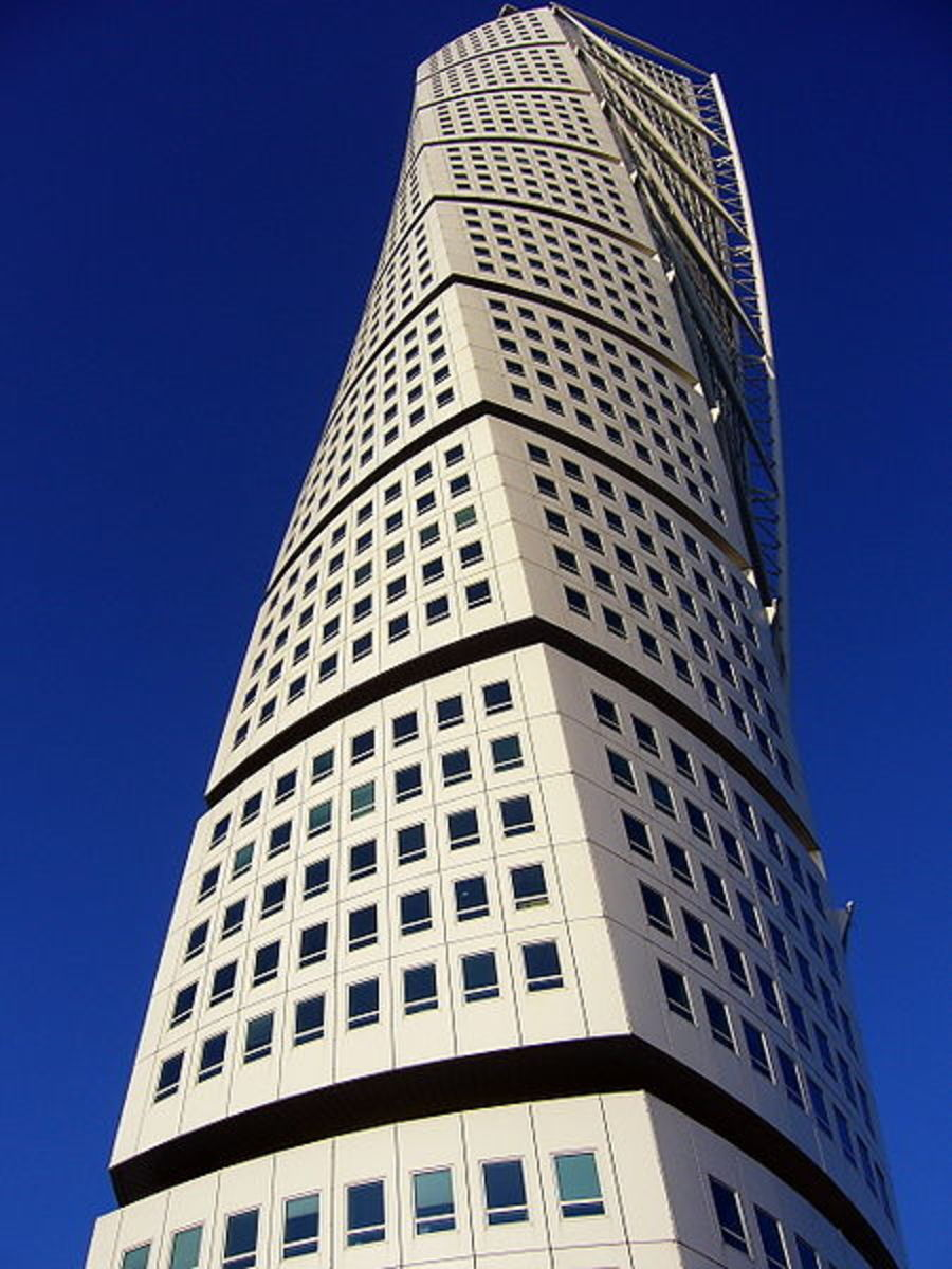 Turning Torso (2005) In  Malmo, Sweden.