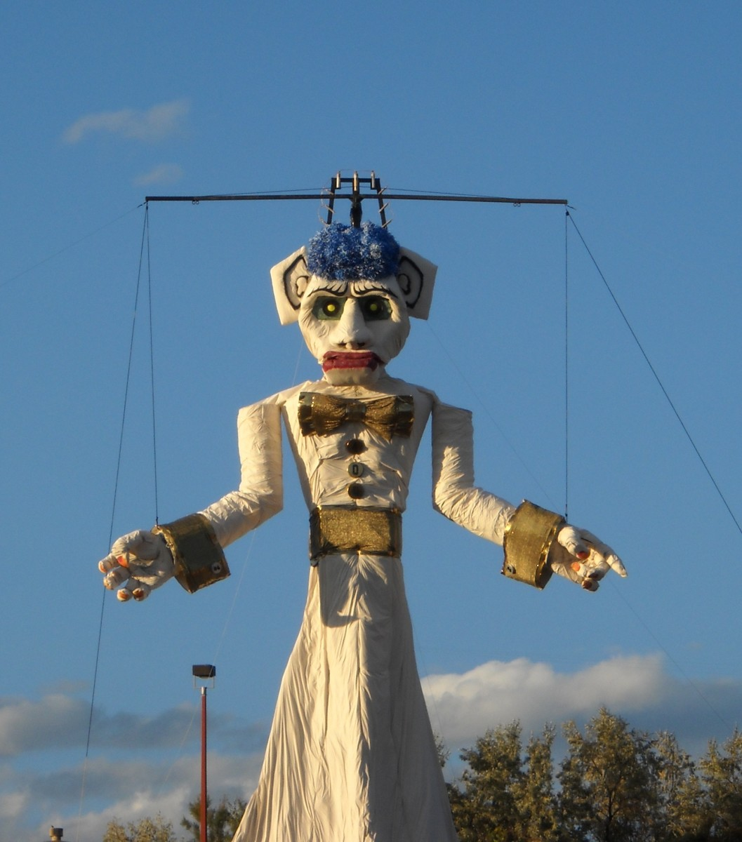 The Burning of Zozobra