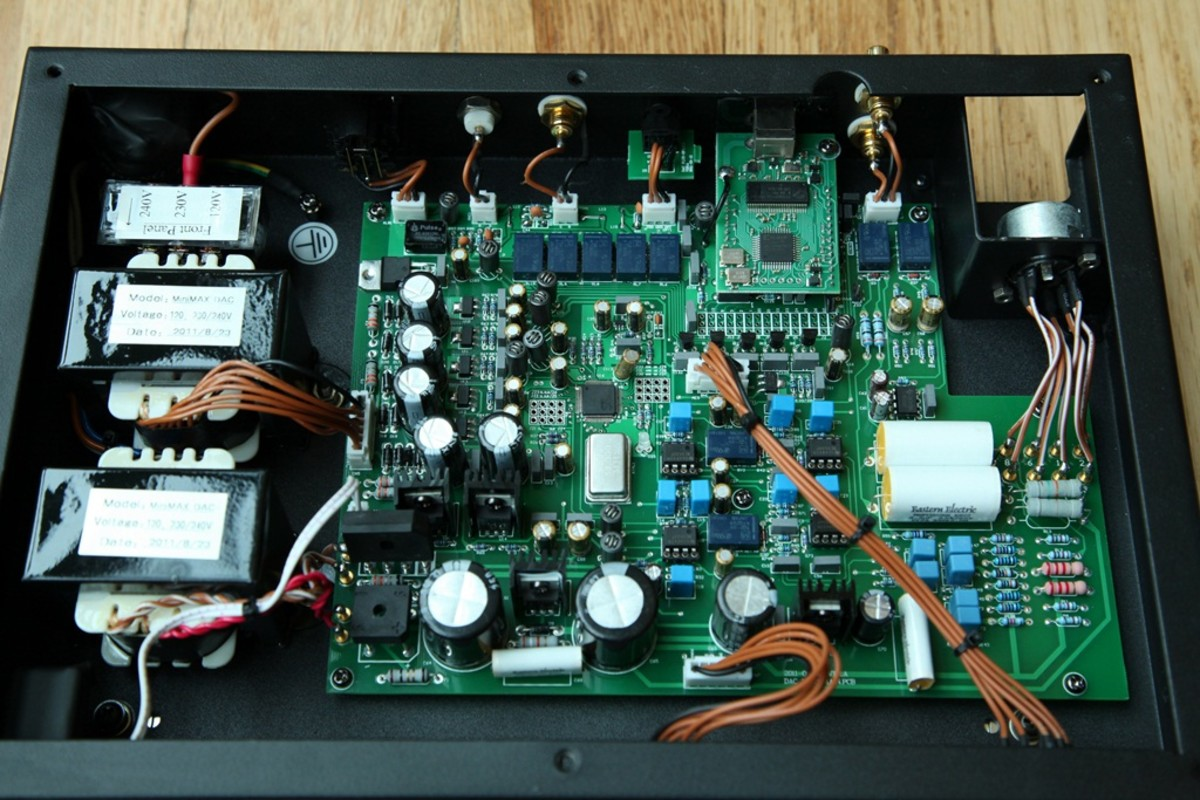 Under the hood of the EE DAC Plus